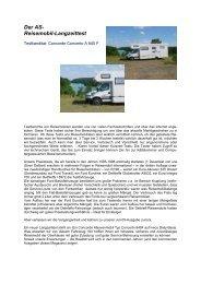 Der AS- Reisemobil-Langzeittest - AS Freizeit Service