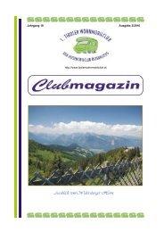 Clubmagazin 3.2010 - Wohnmobilclub