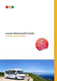Wohnmobil-Guide anschauen und ausdrucken (PDF) - Erento