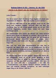 Bodensee Bulletin Nr. 01 - Dienstag, 26. Mai 2009 - Big-Max