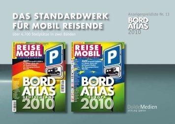 das standard werk für mobil reisende - DoldeMedien Verlag GmbH