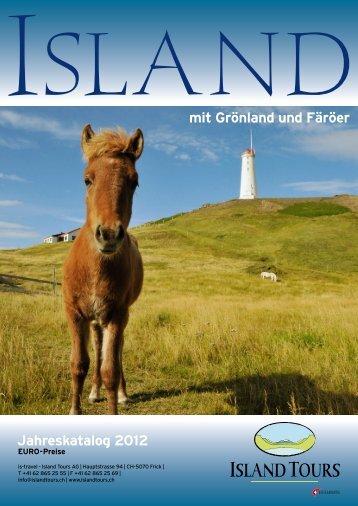 Katalog 2012 EURO, PDF - Island Tours Deutschland
