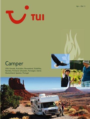 TUI - Camper - Sommer 2011 - Giata