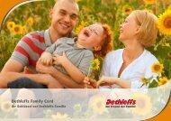 Broschüre Family Card - Dethleffs