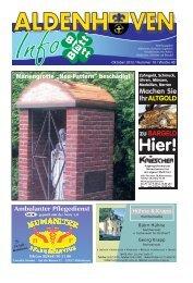 Ausgabe Oktober 2012 / Nummer 10 / Woche 40 - Gemeinde ...