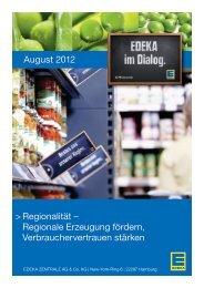 Regionalität – Regionale Erzeugung fördern ... - Edeka