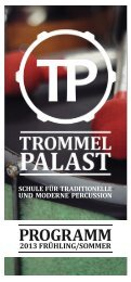 Programm Download - Trommelpalast Mannheim