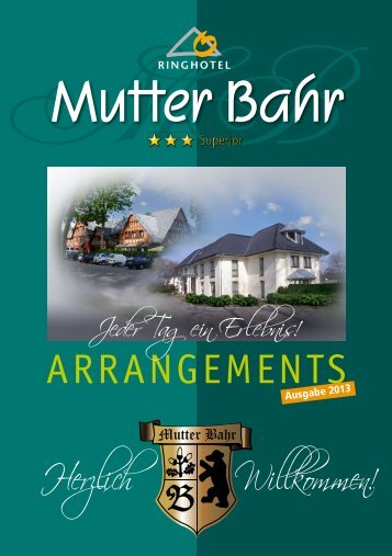 Mutter Bahr Arrangements 2013