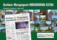 Ergänzungspreisliste Berliner Morgenpost Wochenend EXTRA 2013