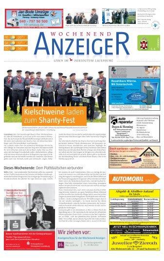 Wochenend Anzeiger - Kurt Viebranz Verlag