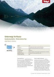 Unterwegs im Koasa (application/pdf) - Tirol