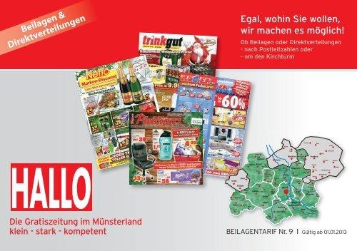 Beilagentarif - Aschendorff Medien GmbH & Co. KG
