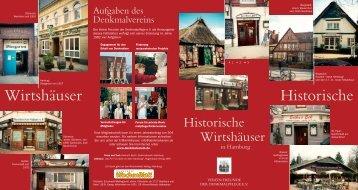 Faltblatt hier herunterladen - Denkmalverein Hamburg