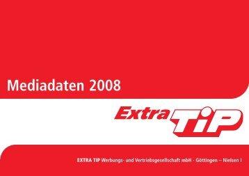 Mediadaten 2008 - Extra Tip