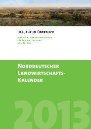 NORDDEUtsChER LAnDwiRtsChAFts- KAlEnDER - M-Design