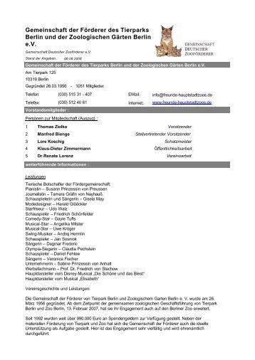 Informationsblatt des Vereins - Internetportal der Gemeinschaft ...