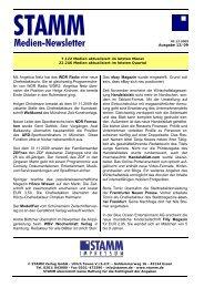 STAMM_Medien_Newslett - STAMM Verlag GmbH