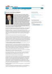Interview: Carlo Petrini im Gespräch - Hannover - wochenblaetter.de