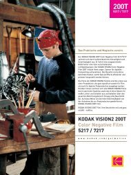 KODAK VISION2 200T Color Negative Film 5217 / 7217 - Wittner ...