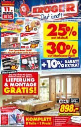 EXTRA! - Möbel-Kröger