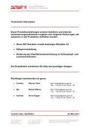 Download PDF - Carl Stahl GmbH & Co. KG