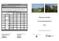 Pflanzenschutzmittel für den Tafeltraubenanbau 2013
