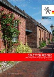 STADTTEILPROFILE - Stadt Wilhelmshaven