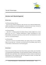 Anreise nach Neuharlingersiel - Gabriele Richter - PR