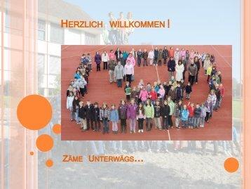 Präsentation Elterninfo AdL, 18. Oktober 2011 - Schule Wittnau