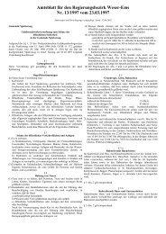 Amtsblatt für den Landkreis Wittmund - Spiekeroog