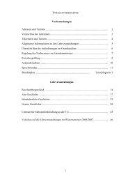 Vorbemerkungen Adressen und Termine - Fachgebiete Geschichte ...
