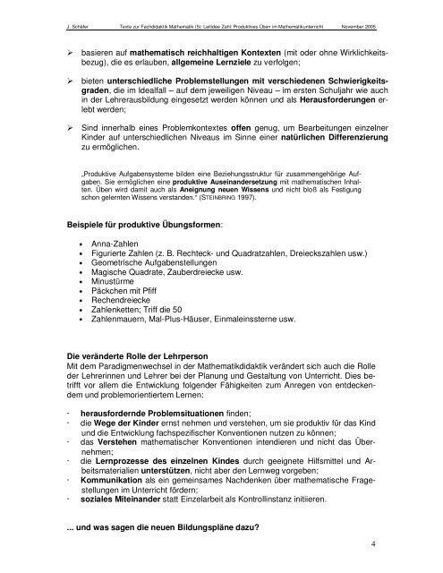 Texte zur FD_5_Produktives_Ueben_im_Mathematikunterricht