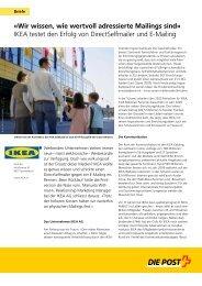 BC Ikea - Die Schweizerische Post