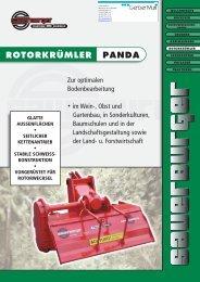 ROTORKRÜMLER PANDA - Sauerburger