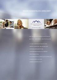 Branchenkatalog 2006 als pdf (873 KB) - Wirtschaftsforum Oberland