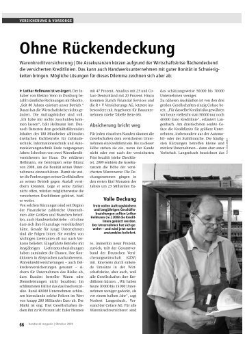 Ohne Rückendeckung - Quest Consulting