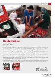 Defibrillation - Regina Lange  Medizintechnik