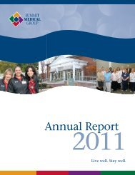 Annual Report - Summit Medical Group