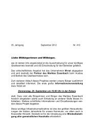 September - Info - Markt Essenbach