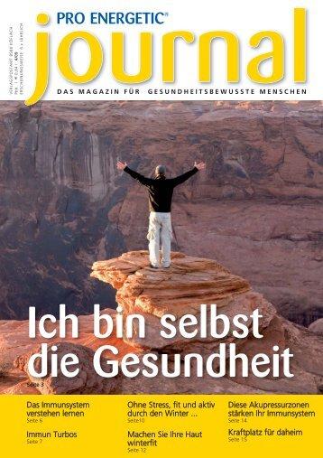 PE Journal Nr18:Layout 1.qxd - PRO ENERGETIC© Energiemedizin ...