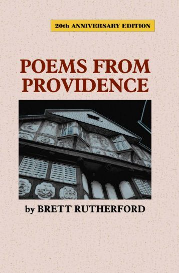 Poems From Providence - The Poet's Press