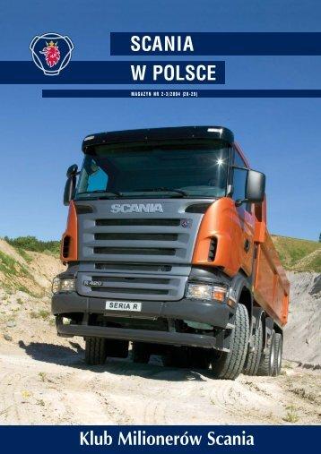 Magazyn Scania w Polsce 2-3/2004