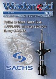 Wiadomości 7/2003 - Inter Cars SA