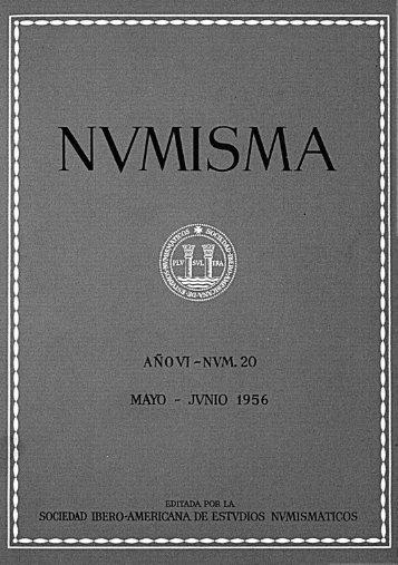 Núm. 20 - Mayo-Junio 1956 - Fábrica Nacional de Moneda y Timbre