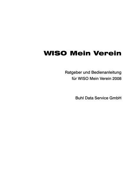 Wiso Mein Verein Buhl Replication Service Gmbh