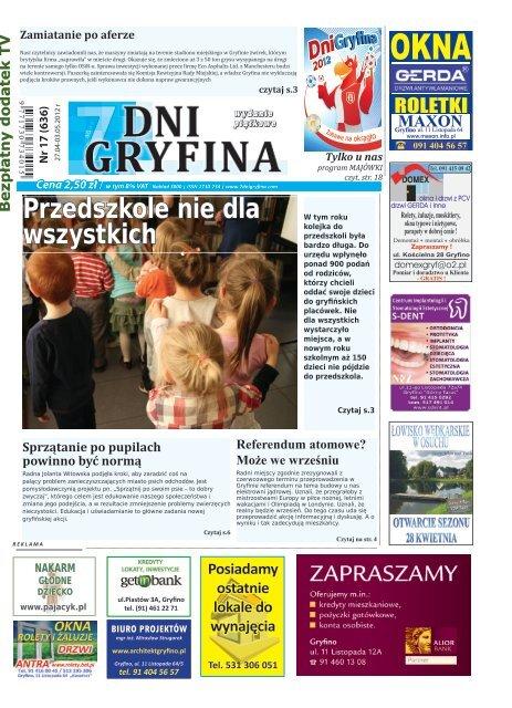 Pobierz Nr 17 Gazeta 7 Dni Gryfina