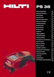 plik Adobe Acrobat 0.89 MB polski - Instrukcja obsługi - Hilti