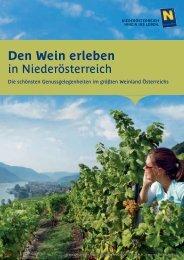 Den Wein erleben - Weinstraße Niederösterreich