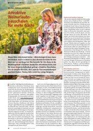 Attraktive Weinurlaubspauschalen für mehr - Genussradeln Pfalz