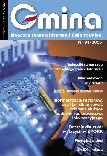 91 / 2005 - Fundacja Promocji Gmin Polskich
